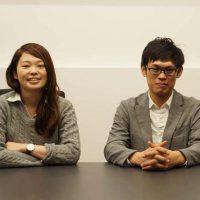 人事FM部 坂田響子さん(左)、設計デザイン部 シニアマネージャー 小野哲さん(右)