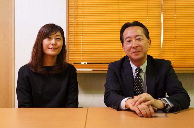 石原さん(右)、大山さん(左)